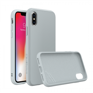 Чехол RhinoShield SolidSuit Cloud Grey для Apple iPhone X