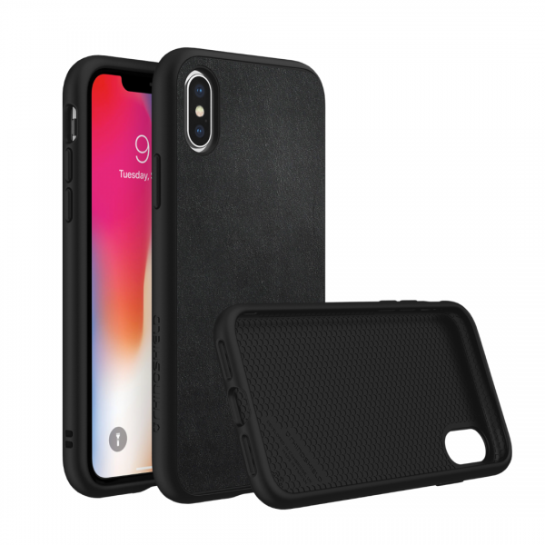 Чехол RhinoShield SolidSuit Leatherдля Apple iPhone X