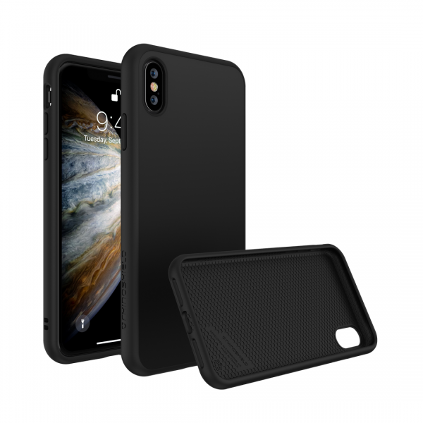 Чехол RhinoShield SolidSuit Classic Black для Apple iPhone Xs