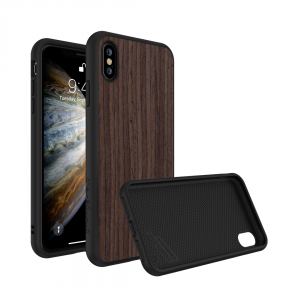 Чехол RhinoShield SolidSuit Wood Black Oak для Apple iPhone Xs Max