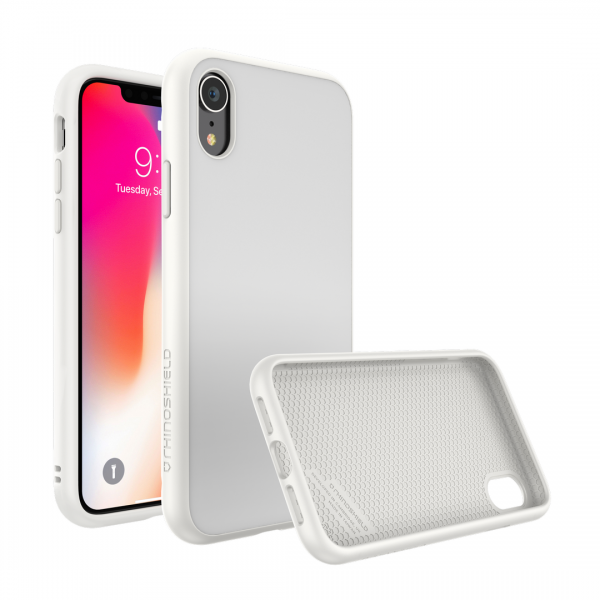 Чехол RhinoShield SolidSuit Classic White для Apple iPhone Xr