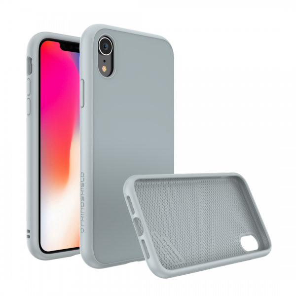 Чехол RhinoShield SolidSuit Cloud grey для Apple iPhone Xr