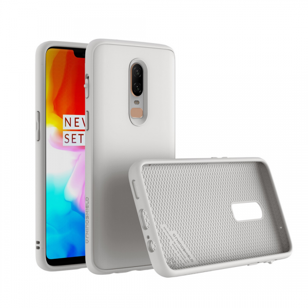Чехол RhinoShield SolidSuit Classic White для OnePlus 6