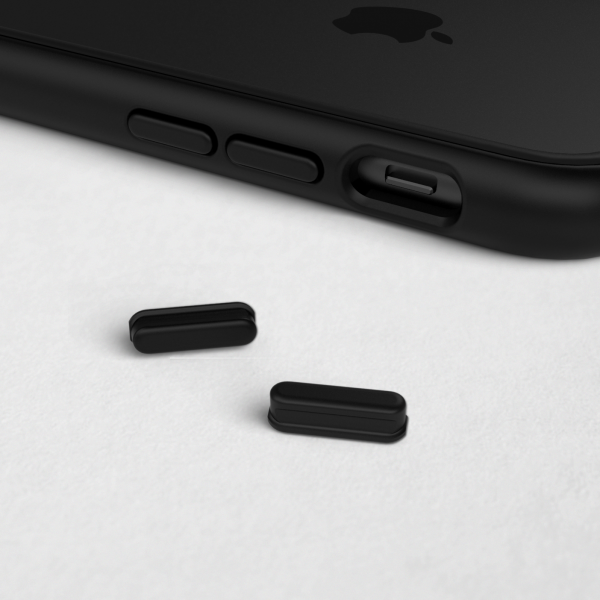 Комплект кнопок Black для модульного чехла RhinoShield Mod