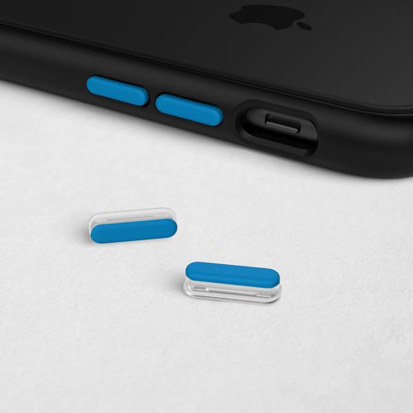Комплект кнопок Azure Blueдля чехла RhinoShield
