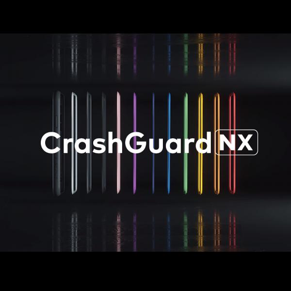 Чехол RhinoShield CrashGuard NX Grey Orange для Apple iPhone X