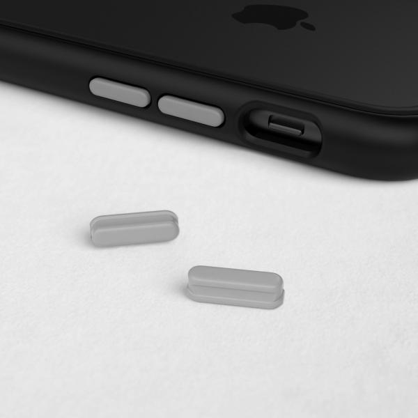 Комплект кнопок Grey для модульного чехла RhinoShield Mod