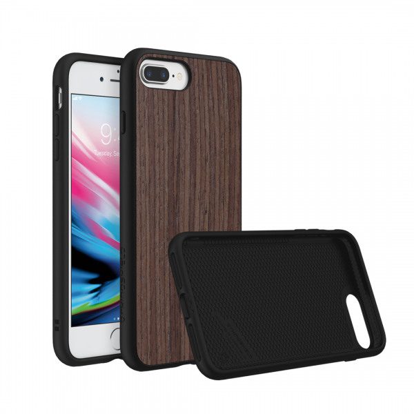 Чехол RhinoShield SolidSuit Wood Dark Walnut для Apple iPhone 7 Plus/8 Plus