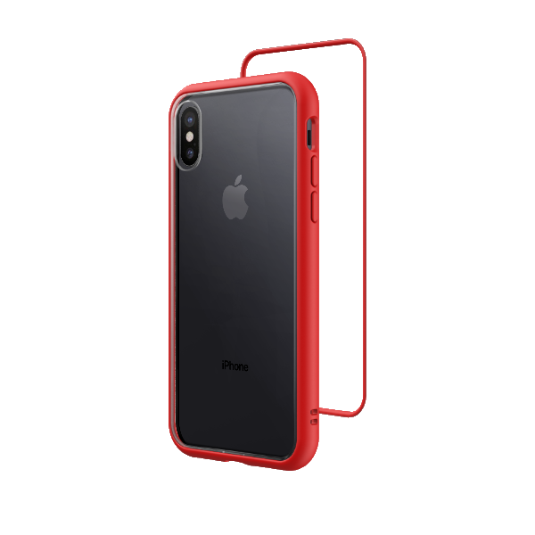 Чехол RhinoShield Mod NX красный для Apple iPhone Xs