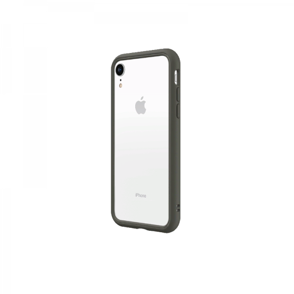 Чехол-бампер RhinoShield   серый для Apple iPhone Xr с защитой от падений с 3.5 м