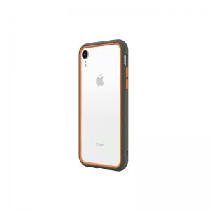 Чехол-бампер RhinoShield CrashGuard NX серый с оранжевым для Apple iPhone Xr