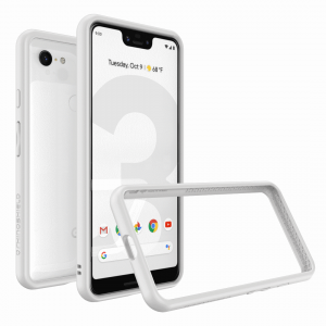 Бампер RhinoShield CrashGuard белый для Google Pixel 3 XL