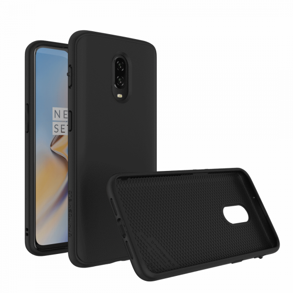 Чехол RhinoShield SolidSuit черный для OnePlus 6T