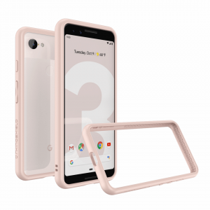 Бампер RhinoShield CrashGuard розовый для Google Pixel 3