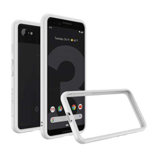 Бампер RhinoShield CrashGuard белый для Google Pixel 3