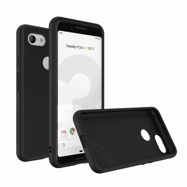 Чехол-накладка RhinoShield SolidSuit черный для Google Pixel 3
