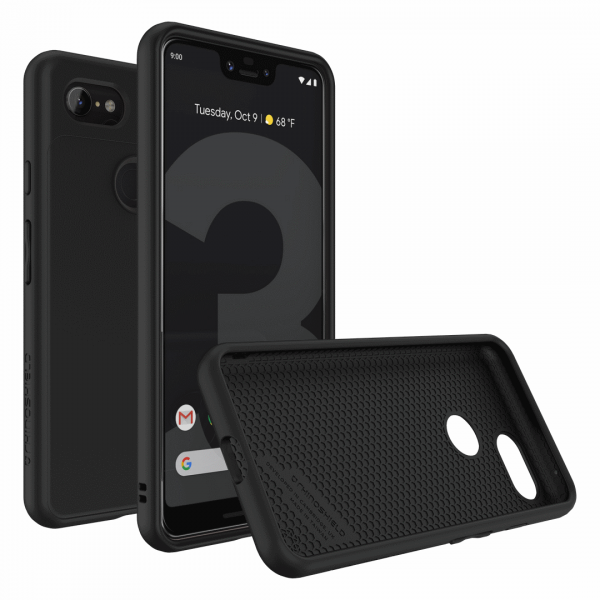 Чехол RhinoShield SolidSuit черный для Google Pixel 3 XL