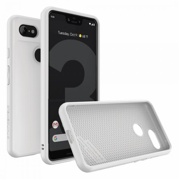 Чехол-накладка RhinoShield SolidSuit белый для Google Pixel 3 XL