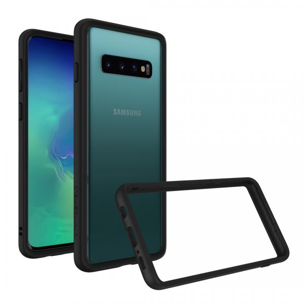 Чехол-накладка RhinoShield SolidSuit черный для Samsung Galaxy S10