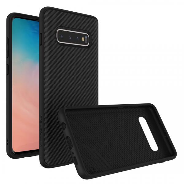 Чехол-накладка RhinoShield SolidSuit черный карбон для Samsung Galaxy S10+