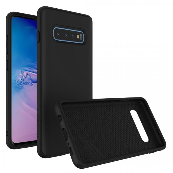 Чехол-накладка RhinoShield SolidSuit черный для Samsung Galaxy S10+