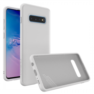 Чехол-накладка RhinoShield SolidSuit белый для Samsung Galaxy S10+