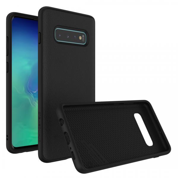 Чехол-накладка RhinoShield SolidSuit кожа для Samsung Galaxy S10+