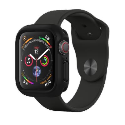 Защитный чехол RhinoShield черный для часов Apple Watch 40 мм 4/5 series