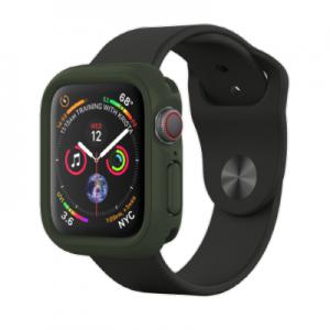 Защитный чехол RhinoShield черный для часов Apple Watch 40 мм 4/5/6 series