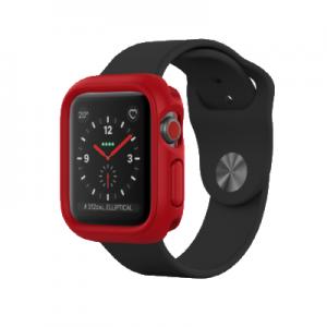 Защитный чехол RhinoShield красный для часов Apple Watch 38 мм 1/2/3 series