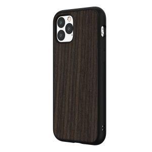 Чехол-накладка RhinoShield SolidSuit деревянный (черный дуб) для Apple iPhone 11 Pro