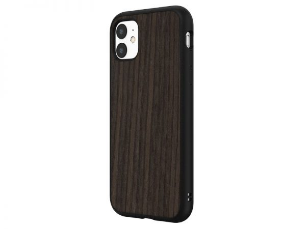 Чехол-накладка RhinoShield SolidSuit деревянный (черный дуб) для Apple iPhone 11
