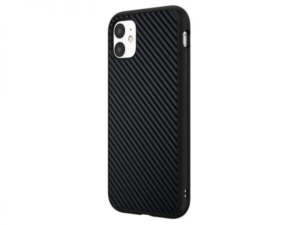 Чехол RhinoShield SolidSuit черный карбон для Apple iPhone 11