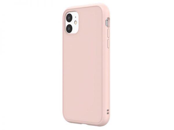 Чехол RhinoShield SolidSuit бледно-розовый для Apple iPhone 11