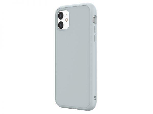 Чехол-накладка RhinoShield SolidSuit серый для Apple iPhone 11