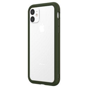 Чехол-бампер RhinoShield CrashGuard NX зеленый для Apple iPhone 11/XR