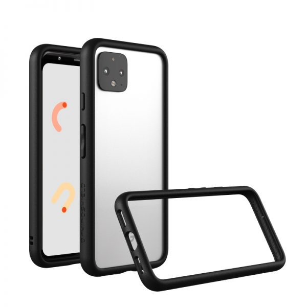 Бампер RhinoShield CrashGuard черный для Google Pixel 4