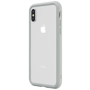Чехол-бампер RhinoShield CrashGuard NX светло-серый для Apple iPhone Xs Max