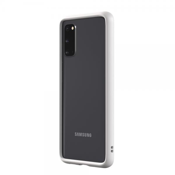 Чехол-бампер RhinoShield CrashGuard белый для Samsung Galaxy S20