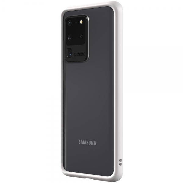 Чехол-бампер RhinoShield CrashGuard белый для Samsung Galaxy S20 Ultra