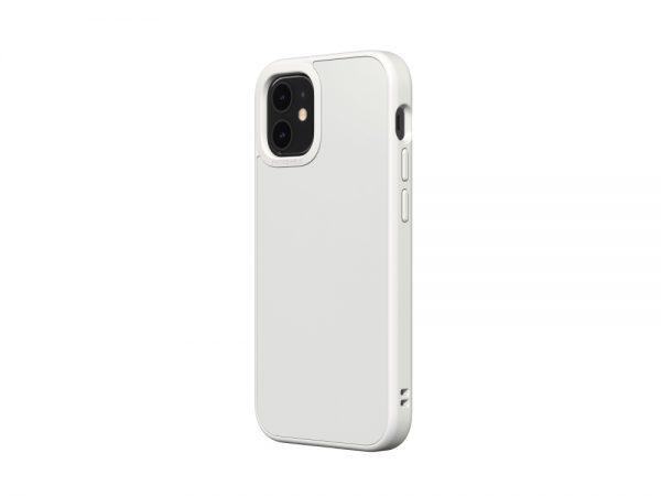 Чехол-накладка RhinoShield SolidSuit белый для Apple iPhone 12 mini