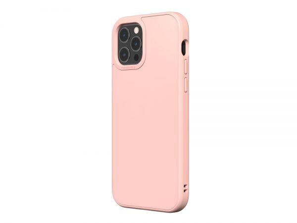 Чехол-накладка RhinoShield SolidSuit бледно-розовый для Apple iPhone 12 Pro