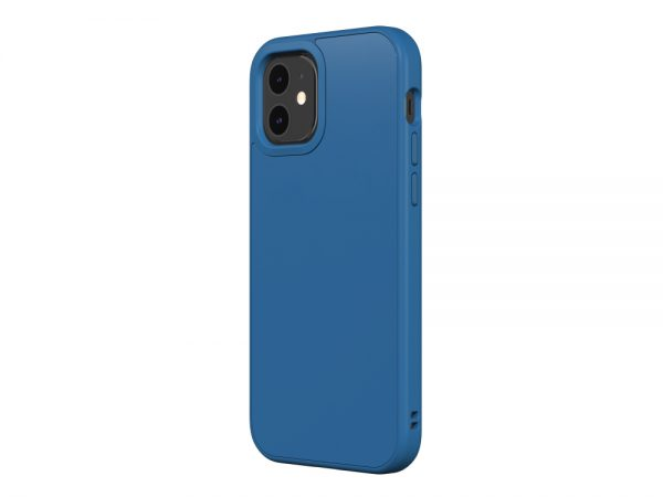 Чехол-накладка RhinoShield SolidSuit синий для Apple iPhone 12/12 Pro