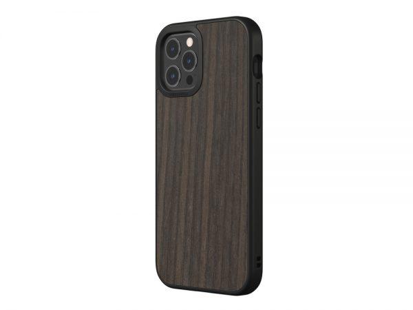 Чехол-накладка RhinoShield SolidSuit деревянный (черный дуб) для Apple iPhone 12 Pro Max