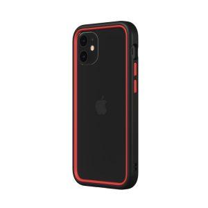 Чехол-бампер RhinoShield CrashGuard NX черный с красным для Apple iPhone 12/12 Pro