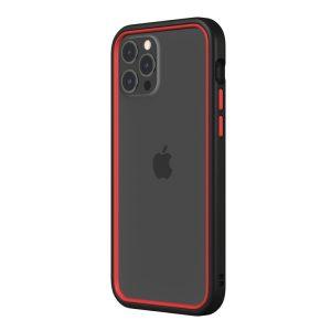 Чехол-бампер RhinoShield CrashGuard NX черный с красным для Apple iPhone 12 Pro Max