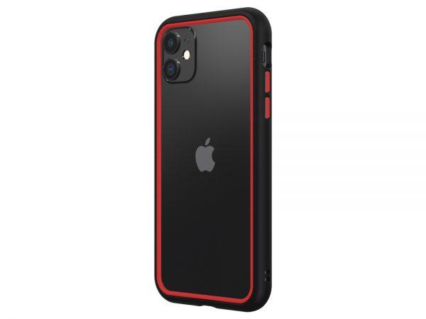 Чехол-бампер RhinoShield CrashGuard NX черный с красным для Apple iPhone 11/XR
