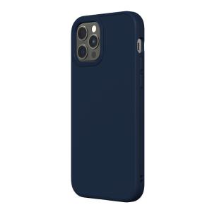 Чехол-накладка RhinoShield темно-синий для Apple iPhone 12/12 Pro с защитой от падений с 3.5 м