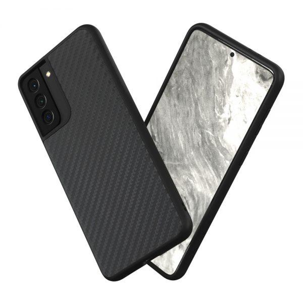 Чехол-накладка RhinoShield SolidSuit карбон для Samsung Galaxy S21+