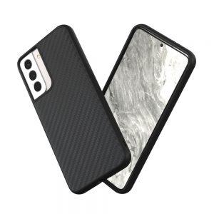 Чехол-накладка RhinoShield SolidSuit карбон для Samsung Galaxy S21